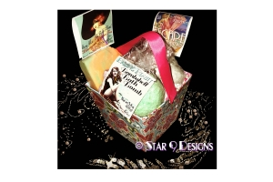 custom gift box and custom card